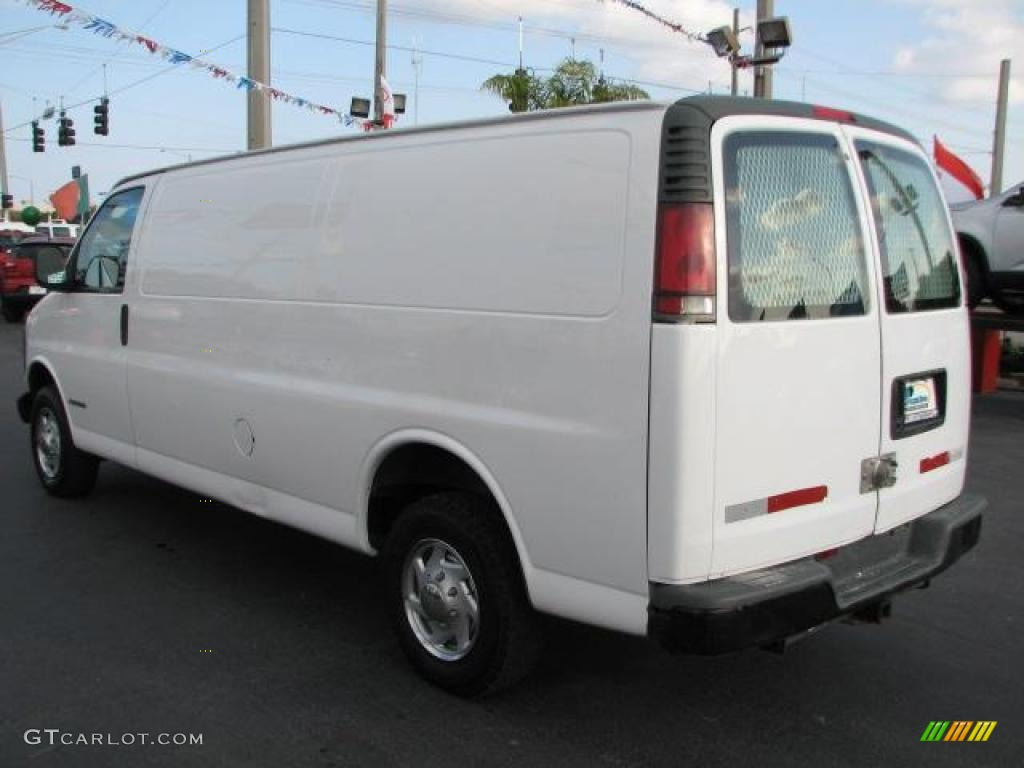 Summit white 1999 chevrolet express 3500 extended cargo exterior photo 46066840