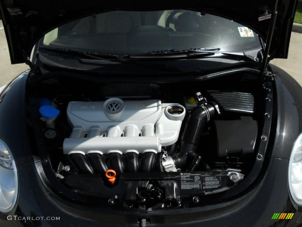 2008 Volkswagen New Beetle S Coupe 2.5L DOHC 20V 5 ...