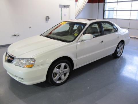 Acura Tl 2003 White. White Diamond Pearl Acura TL