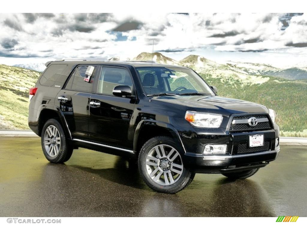 black 2011 toyota 4runner limited 4x4 exterior photo. Black Bedroom Furniture Sets. Home Design Ideas