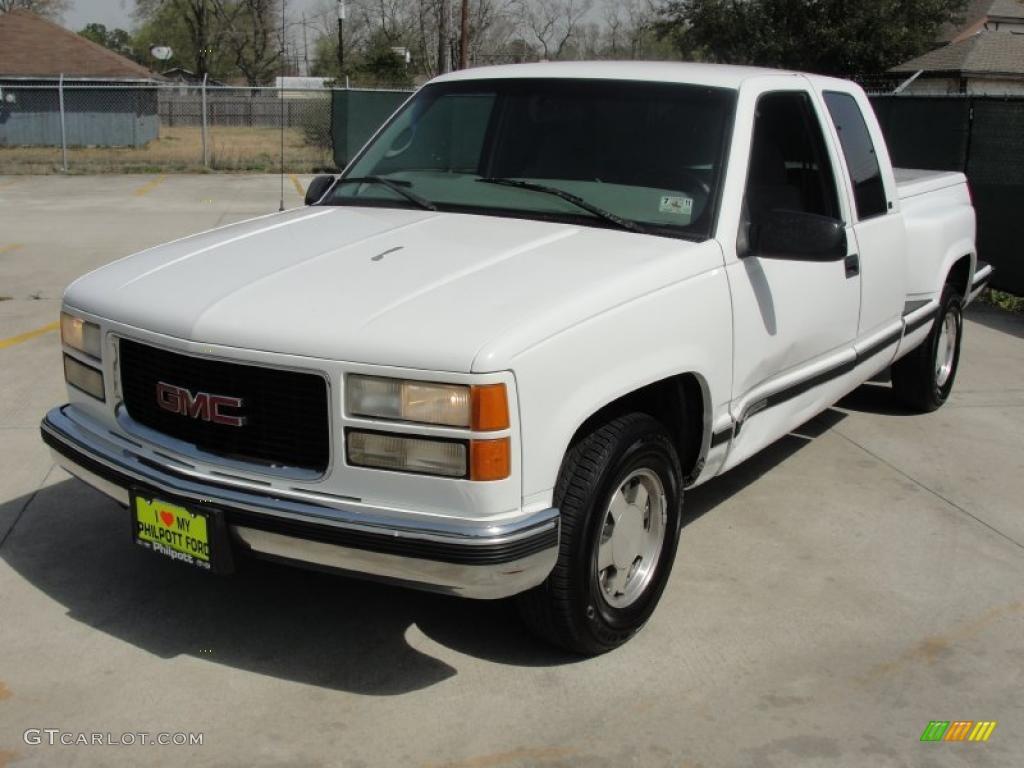 1992 White Gmc 1500 Stepside Extended Cab Autos Post