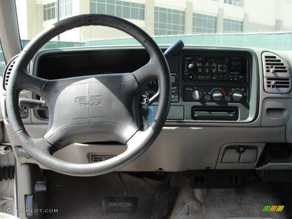 1997 GMC Sierra 1500 SLE Extended Cab Pewter Gray ...