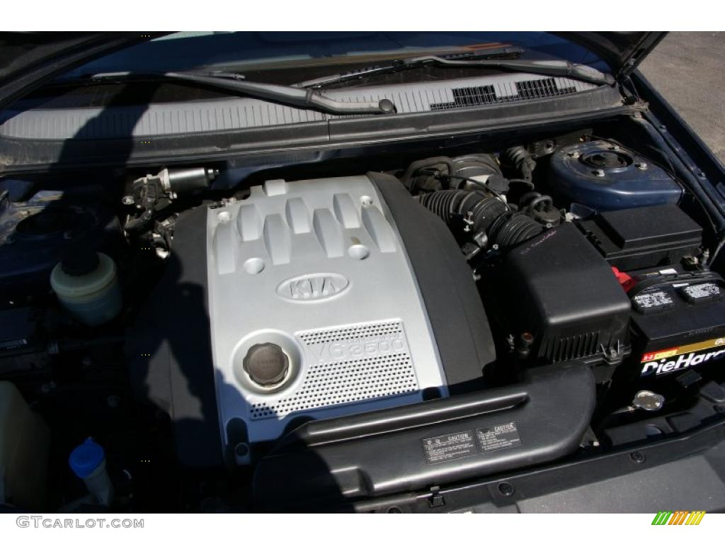2002 Kia Sedona Ex 3 5l Dohc 24 Valve V6 Engine Photo