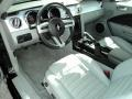 Light Graphite 2008 Ford Mustang Interiors