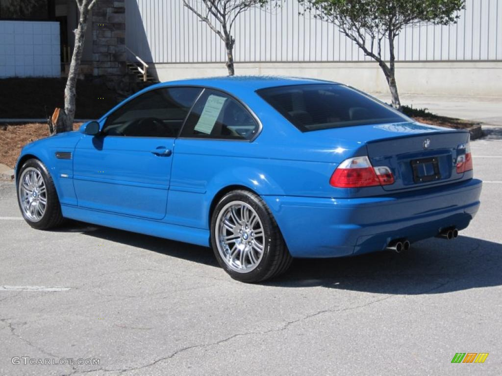 2001 Laguna Seca Blue Bmw M3 Coupe 46069897 Photo 14