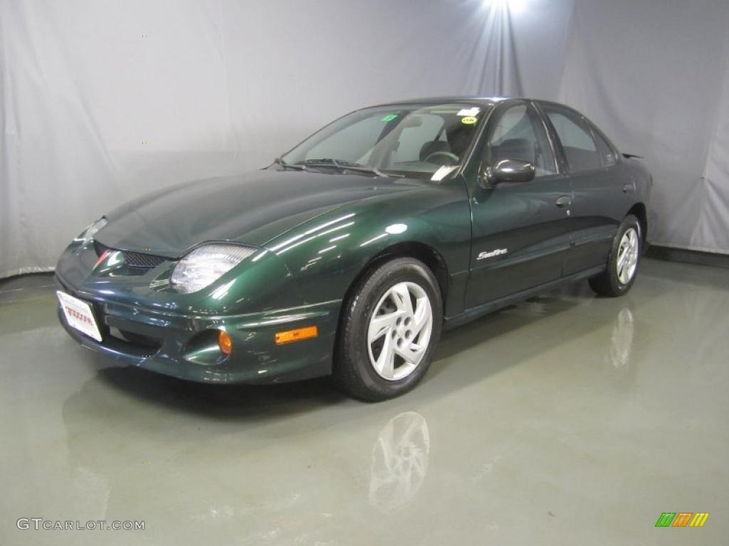 2002 polo green metallic pontiac sunfire se sedan. Black Bedroom Furniture Sets. Home Design Ideas
