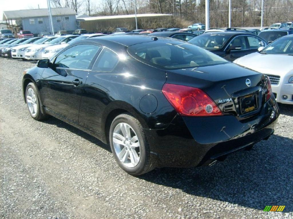 super black 2011 nissan altima 2 5 s coupe exterior photo. Black Bedroom Furniture Sets. Home Design Ideas