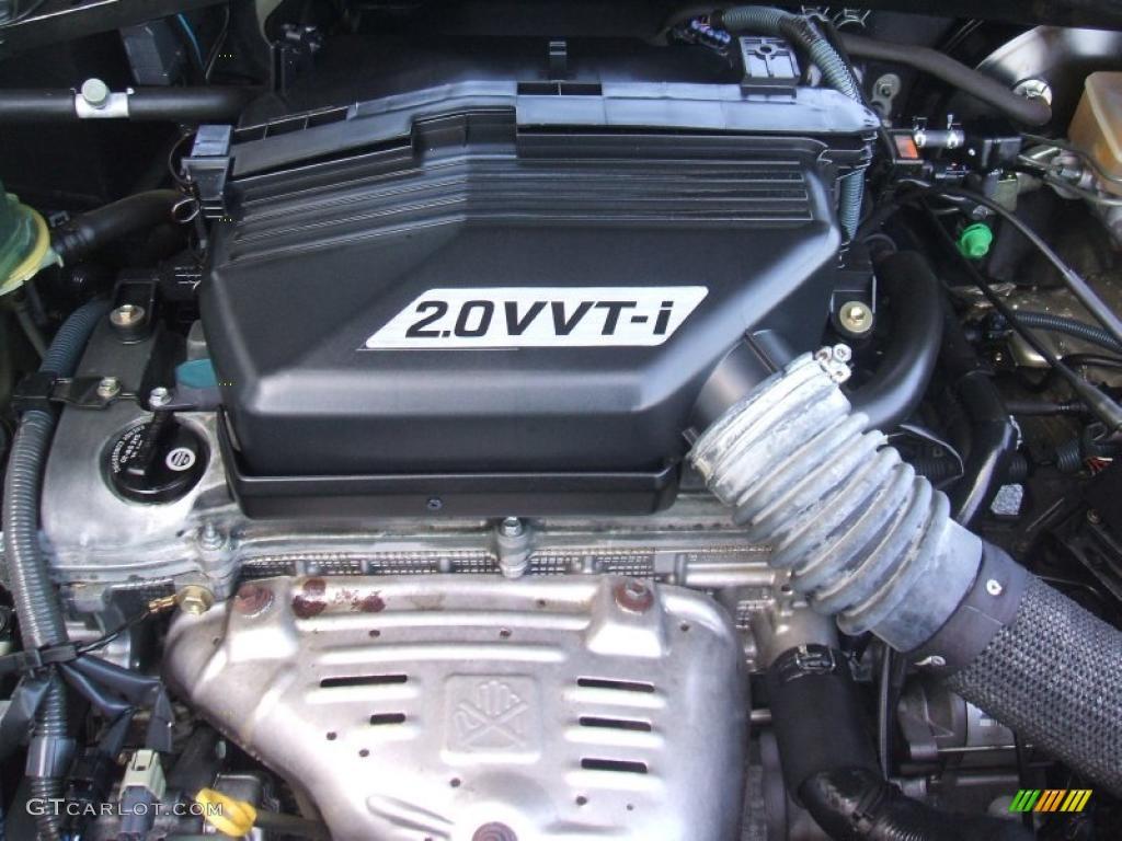 2002 Toyota Rav4 Standard Rav4 Model 2 0 Liter Dohc 16