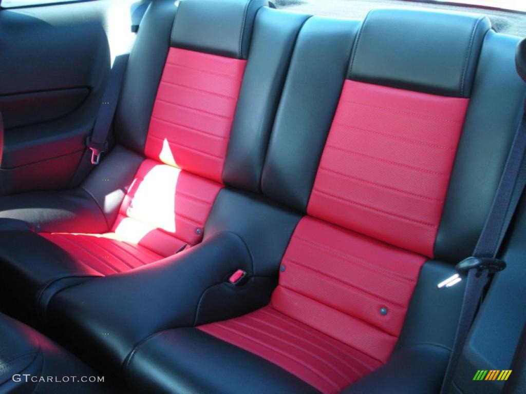 2007 mustang gt500 interior 2007 ford mustang shelby gt500 - Black Red Interior 2007 Ford Mustang Shelby Gt500 Coupe Photo 46108112