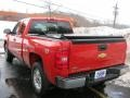2009 Victory Red Chevrolet Silverado 1500 LT Extended Cab 4x4  photo #12