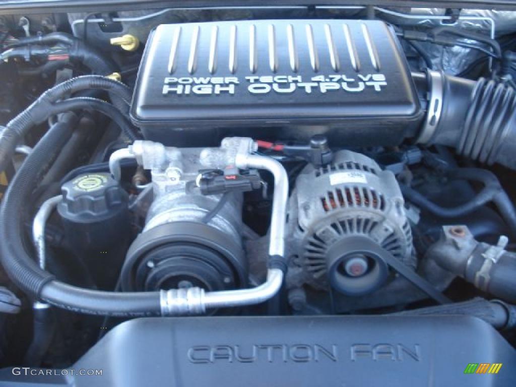 2004 jeep grand cherokee 4 7 engine bay 2004 engine. Black Bedroom Furniture Sets. Home Design Ideas