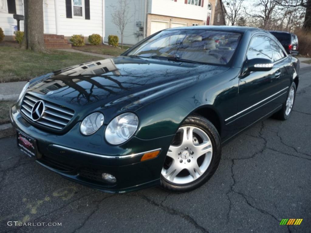 2005 everest green metallic mercedes benz cl 500 46069976 for Green mercedes benz