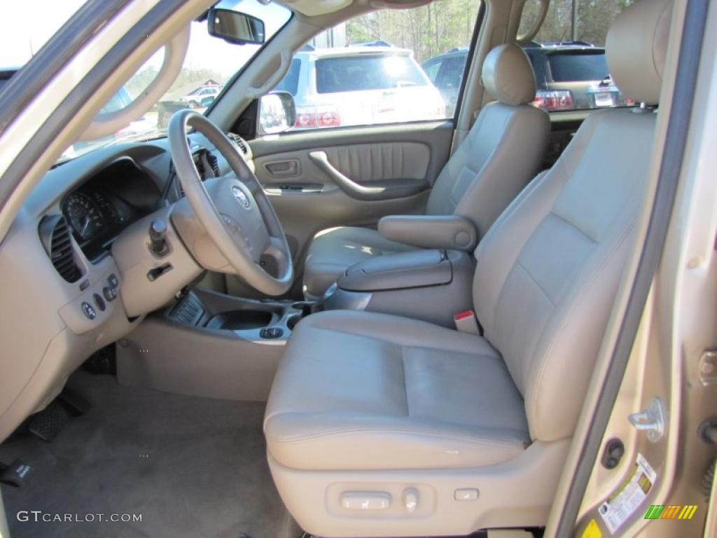2007 Desert Sand Mica Toyota Sequoia Limited 46070024 Photo 8 Car Color Galleries