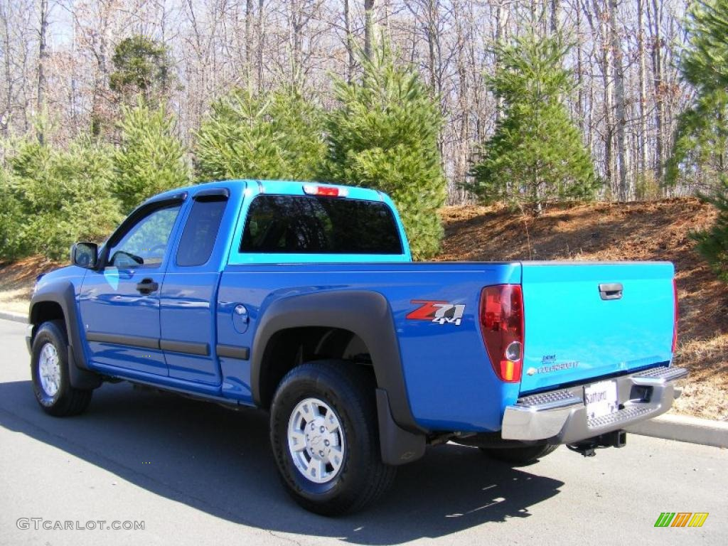 pace blue 2007 chevrolet colorado lt z71 extended cab 4x4. Black Bedroom Furniture Sets. Home Design Ideas