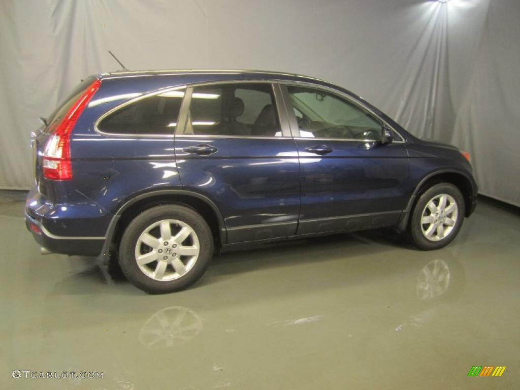 2008 CR-V EX-L 4WD - Royal Blue Pearl / Gray photo #11