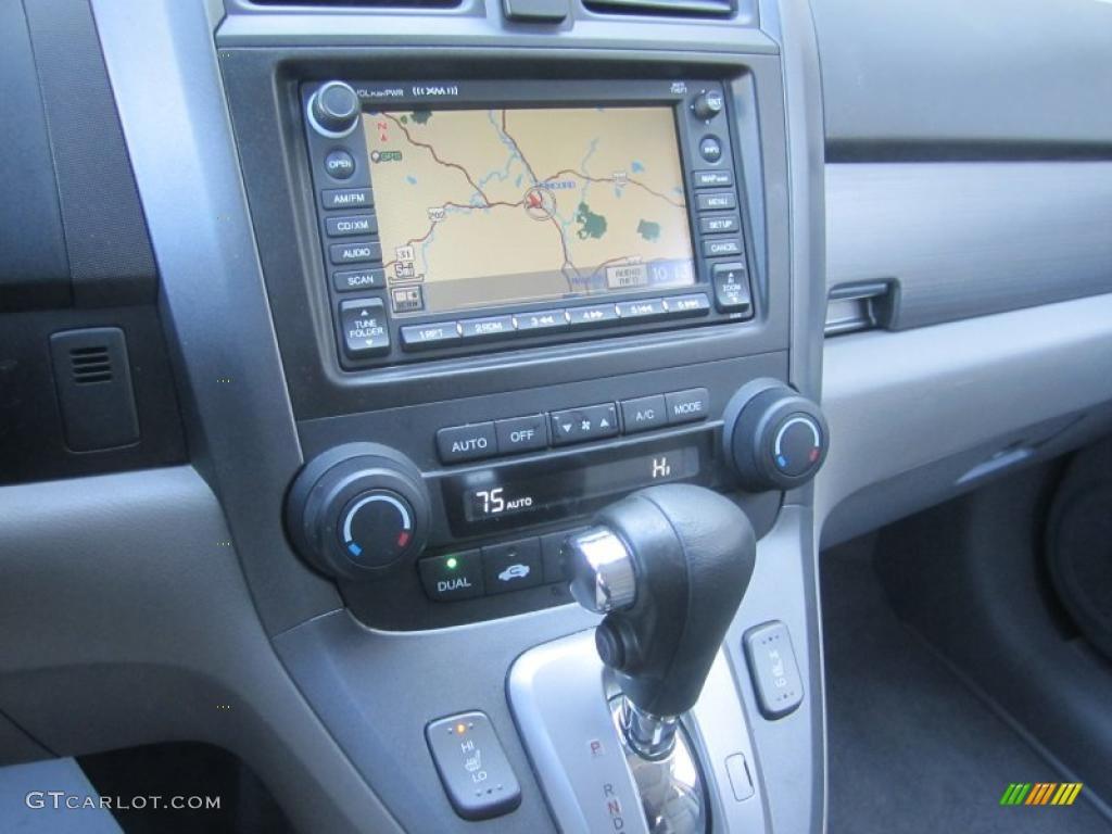 2008 CR-V EX-L 4WD - Royal Blue Pearl / Gray photo #27