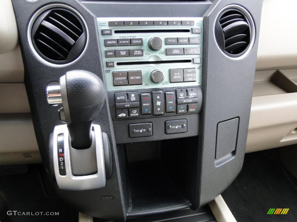 2009 Honda Pilot Ex L Controls Photo 46137565
