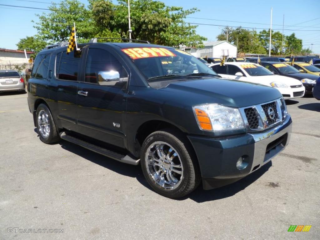 2005 deep water blue nissan armada se 46092138 car color galleries. Black Bedroom Furniture Sets. Home Design Ideas