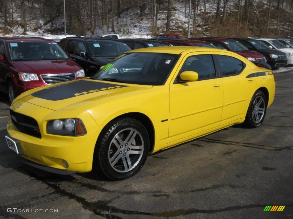 top banana yellow 2006 dodge charger r t daytona exterior photo 46151863. Black Bedroom Furniture Sets. Home Design Ideas