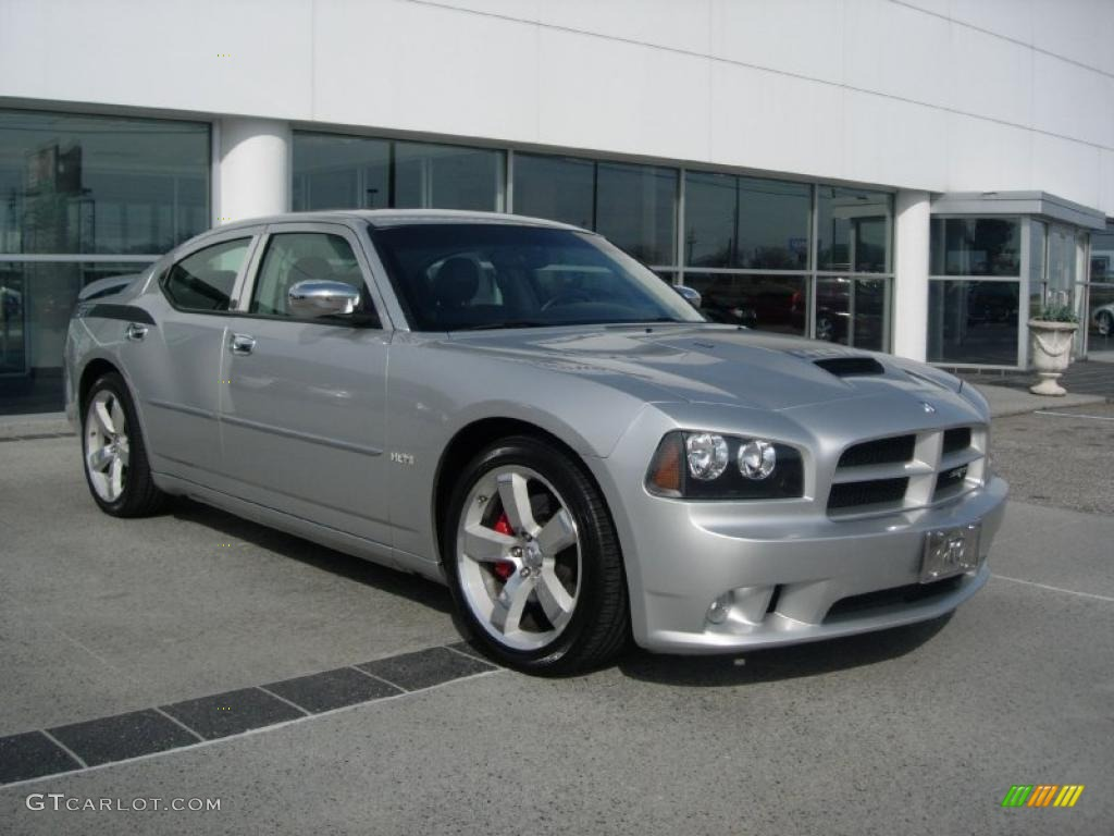 Bright Silver Metallic 2007 Dodge Charger SRT-8 Exterior Photo ...