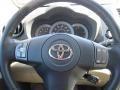 Sand Beige Steering Wheel Photo for 2011 Toyota RAV4 #46162356