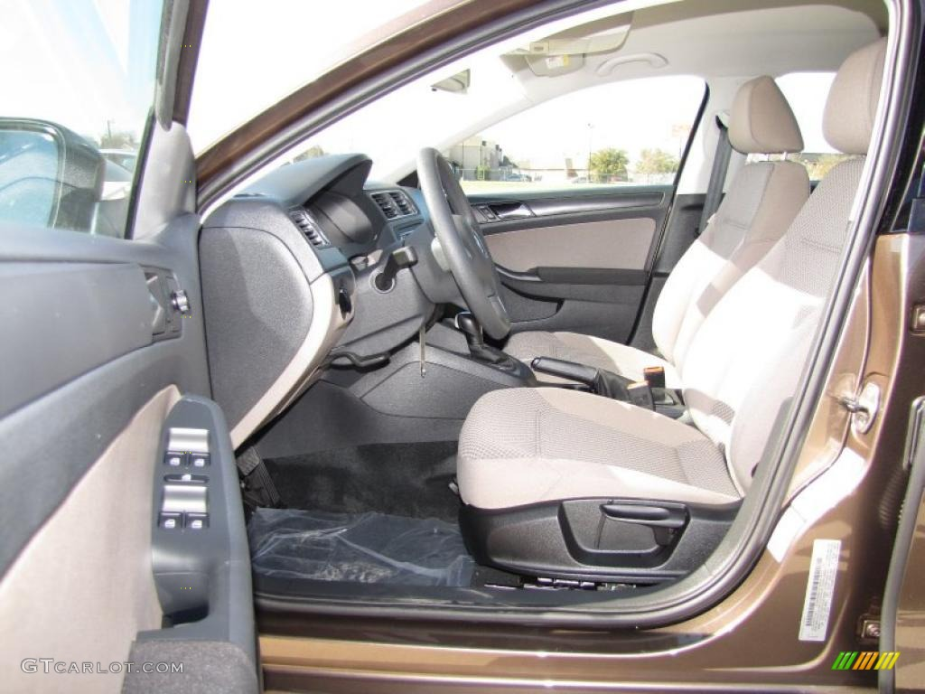 Latte Macchiato Interior 2011 Volkswagen Jetta S Sedan Photo 46165316