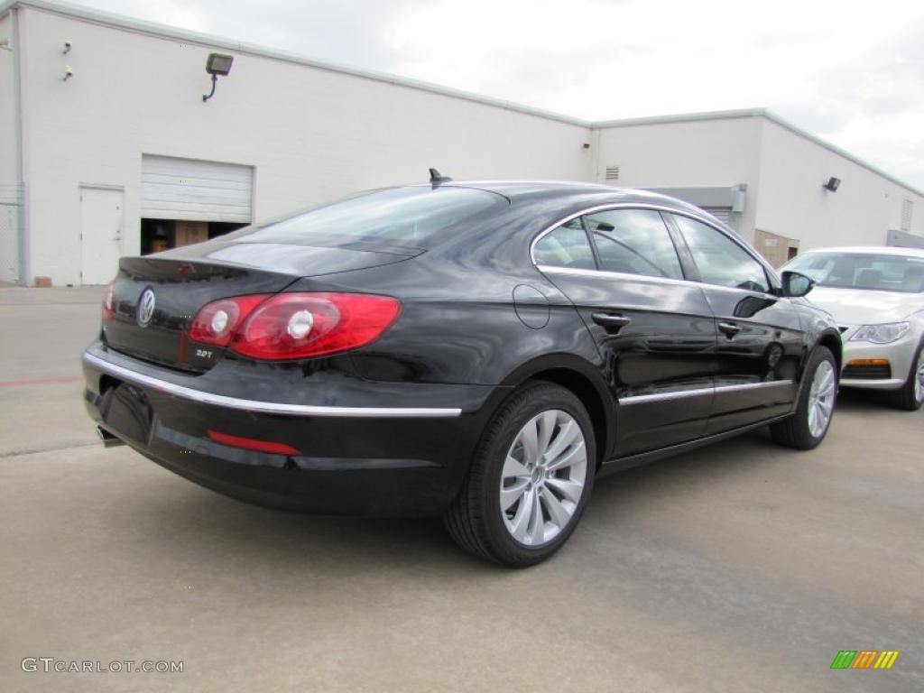 deep black metallic 2012 volkswagen cc sport exterior photo 46166020. Black Bedroom Furniture Sets. Home Design Ideas