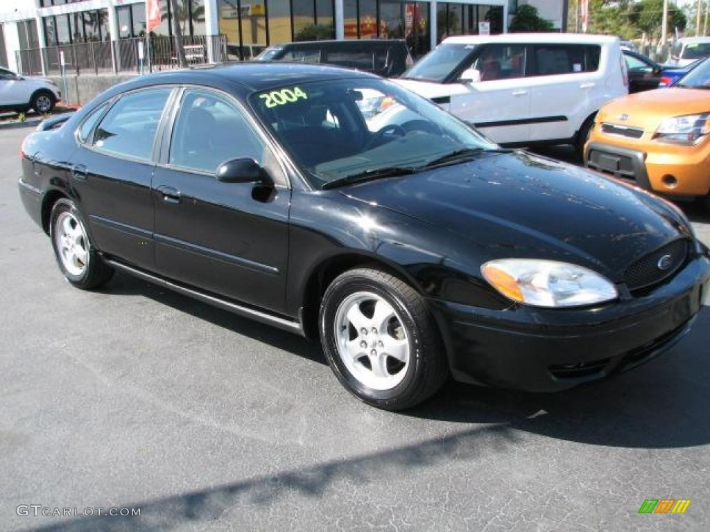 2004 Black Ford Taurus SE Sedan 46092301  GTCarLotcom  Car