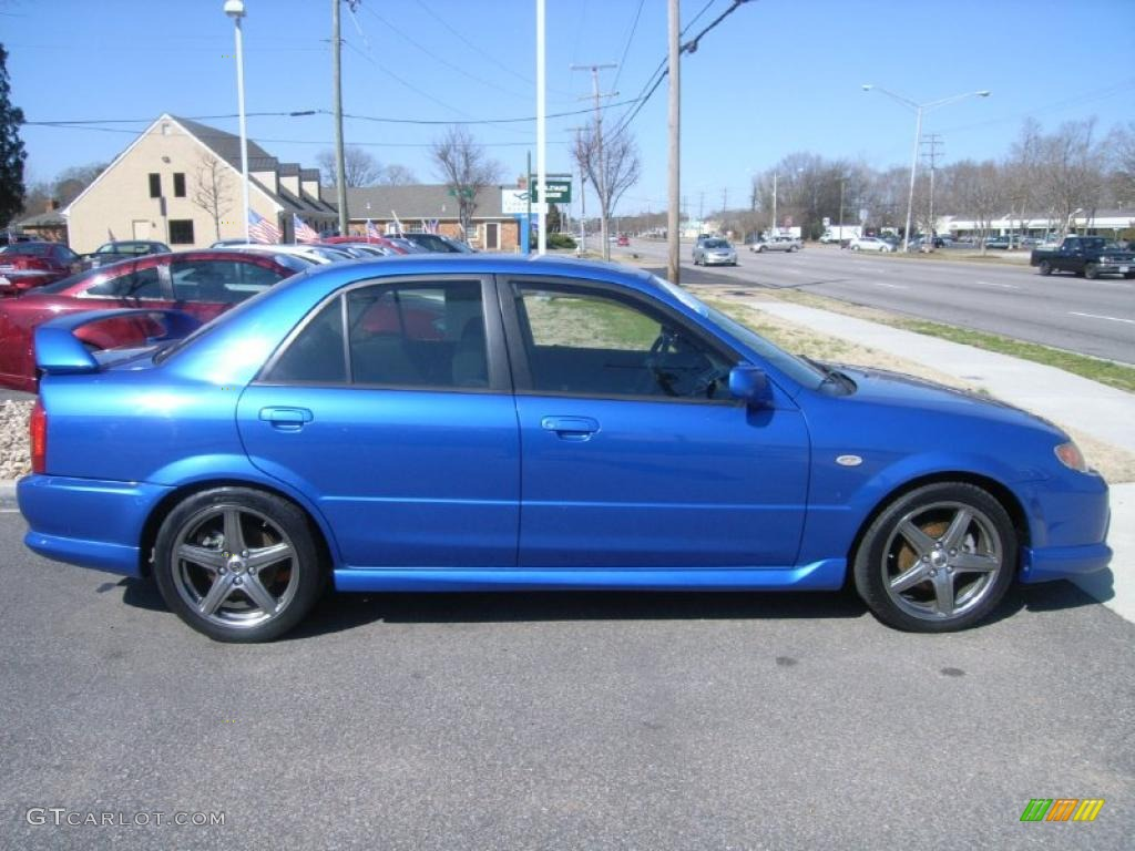 laser blue mica 2003 mazda protege mazdaspeed exterior. Black Bedroom Furniture Sets. Home Design Ideas