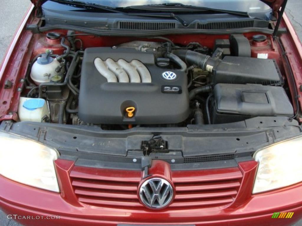 2000 volkswagen jetta gl sedan 2 0 liter sohc 8 valve 4. Black Bedroom Furniture Sets. Home Design Ideas