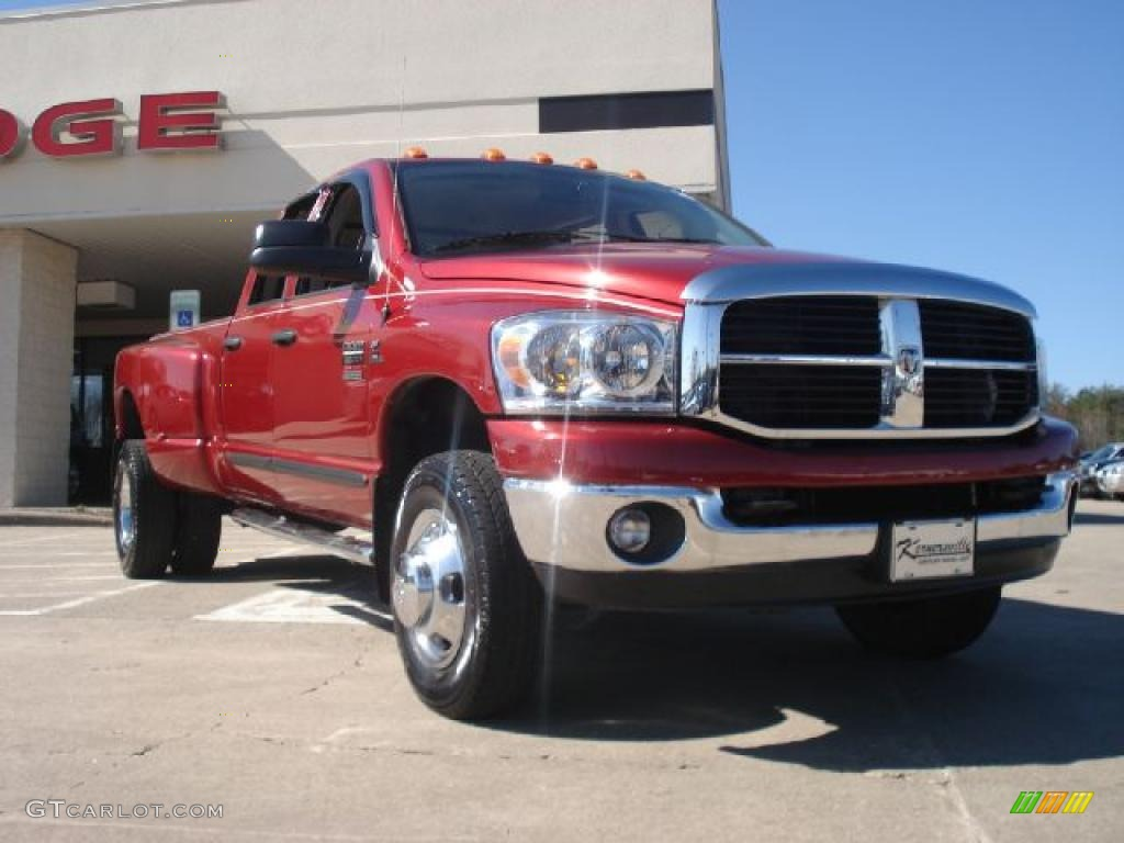 Inferno Red Crystal Pearl Dodge Ram 3500