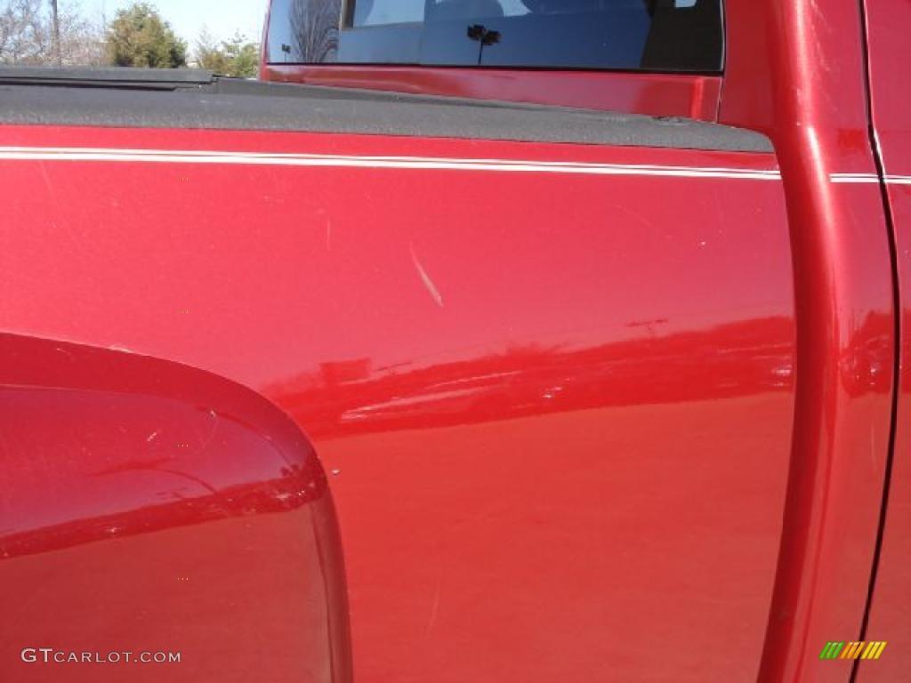 2007 Ram 3500 SLT Quad Cab 4x4 Dually - Inferno Red Crystal Pearl / Khaki photo #45
