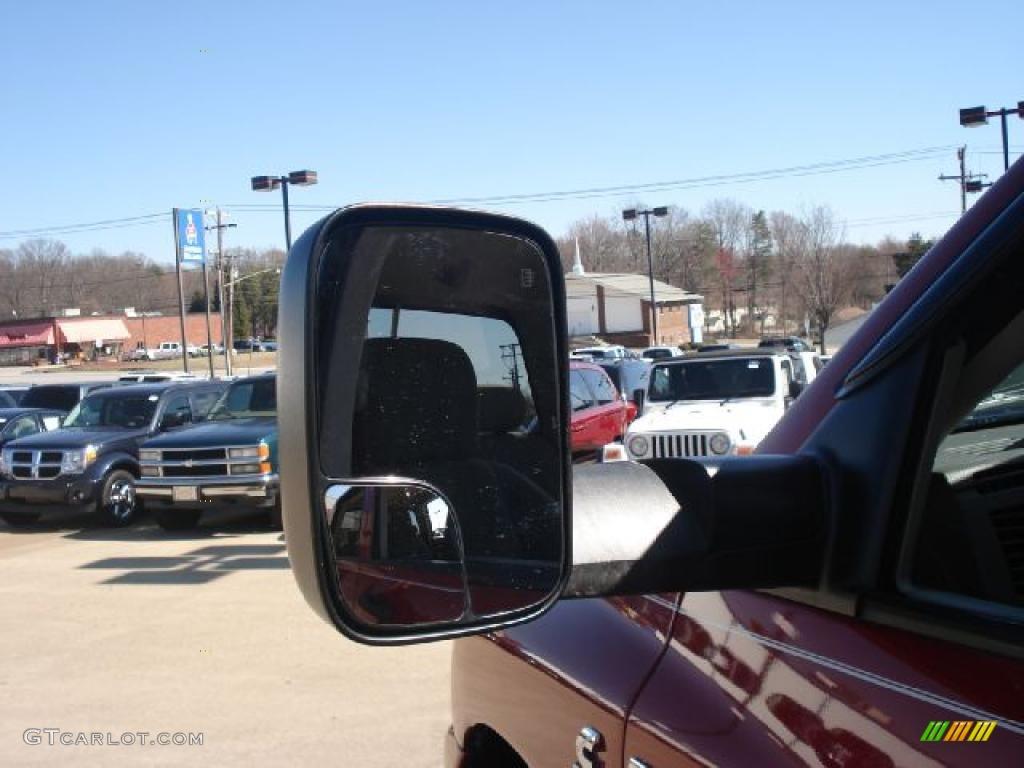 2007 Ram 3500 SLT Quad Cab 4x4 Dually - Inferno Red Crystal Pearl / Khaki photo #47