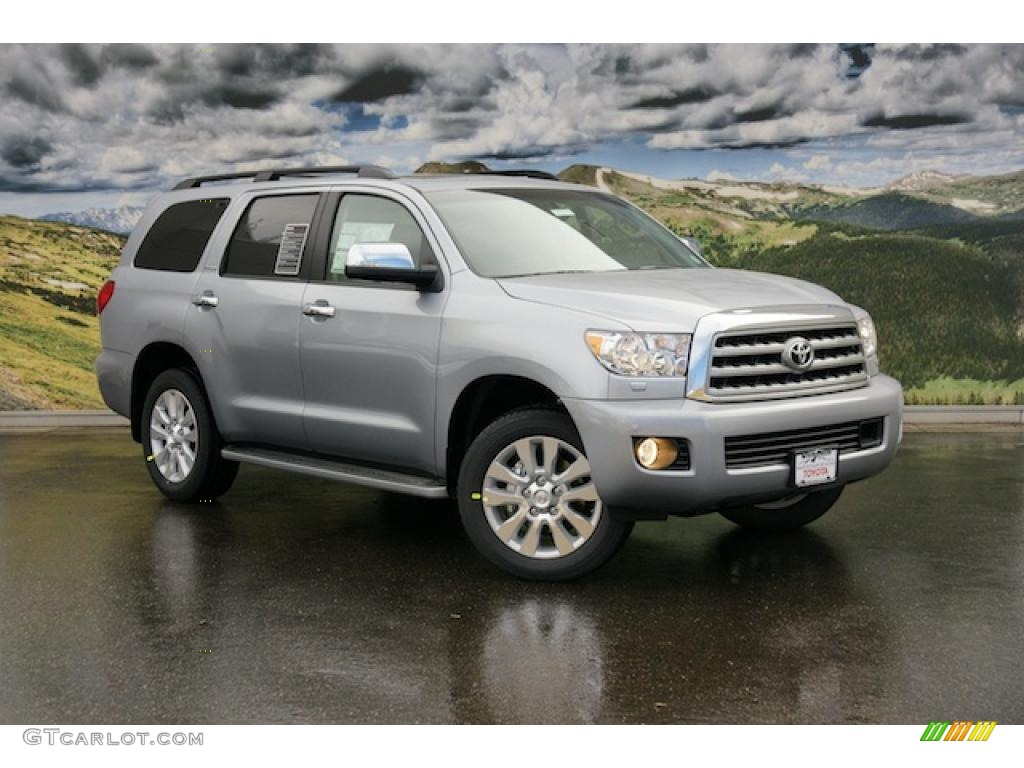 2011 silver sky metallic toyota sequoia platinum 4wd. Black Bedroom Furniture Sets. Home Design Ideas
