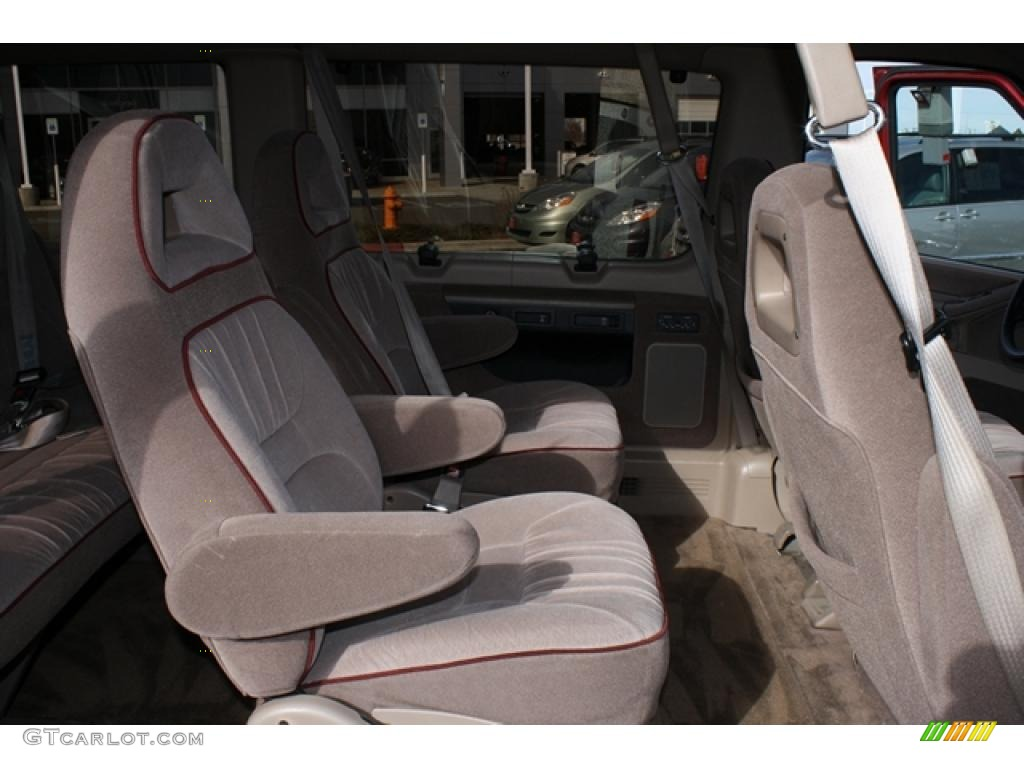 Beige interior 1993 ford e series van e150 club wagon passenger photo 46176047