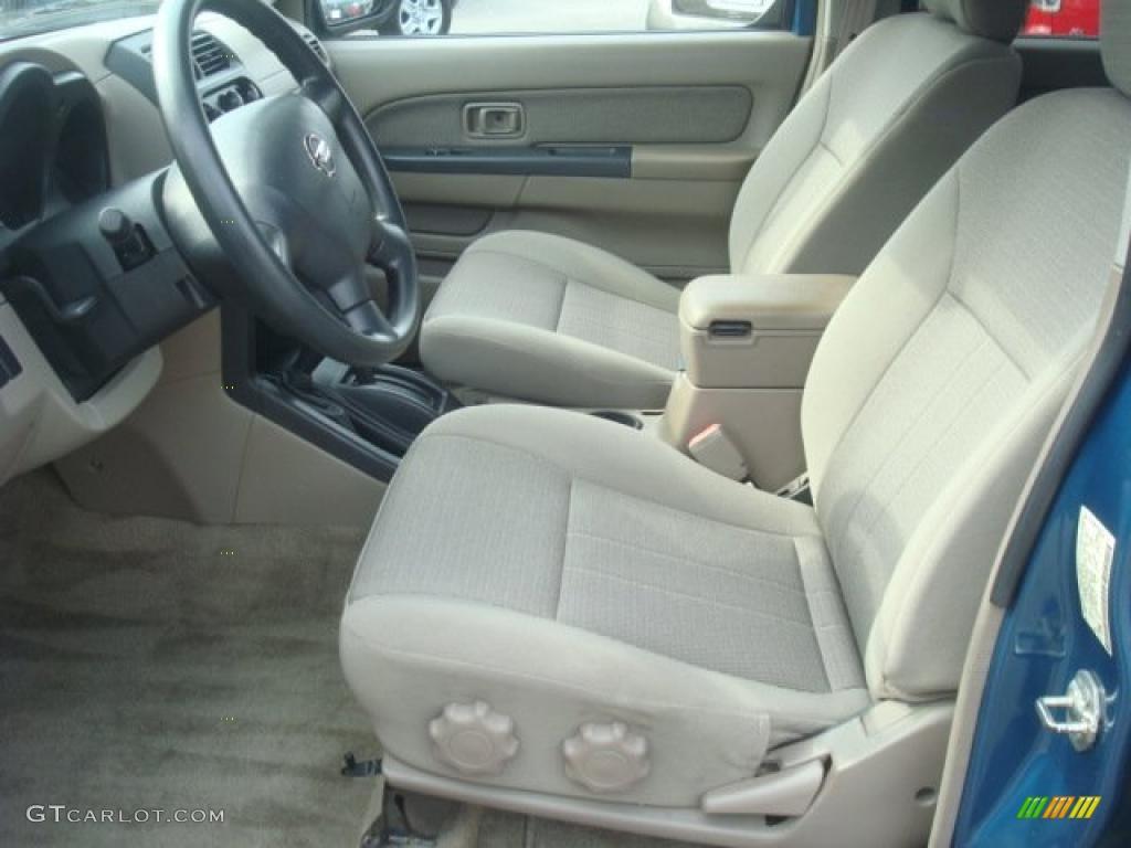 2003 Nissan Frontier Xe V6 Crew Cab 4x4 Interior Photo 46176525