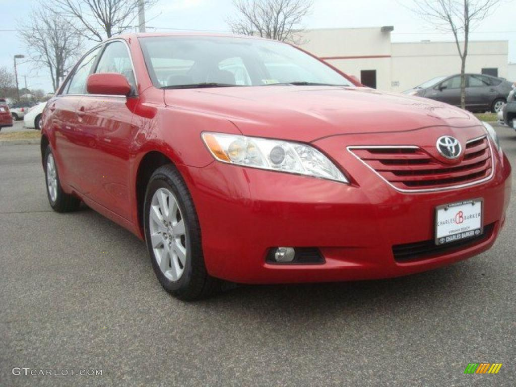 2008 barcelona red metallic toyota camry xle v6 46069552 car color galleries. Black Bedroom Furniture Sets. Home Design Ideas