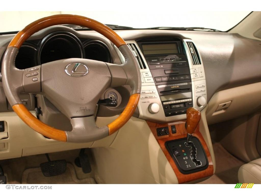 2005 lexus rx 330 awd ivory dashboard photo 46188619. Black Bedroom Furniture Sets. Home Design Ideas