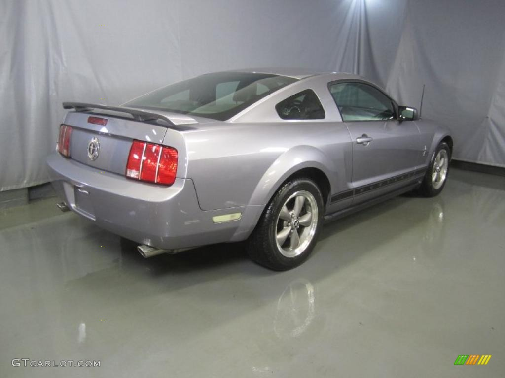 Tungsten Grey Metallic 2006 Ford Mustang V6 Premium Coupe Exterior Photo #46190156