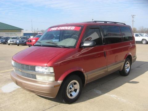 2001 Chevrolet Astro LS Passenger Van Data, Info and Specs