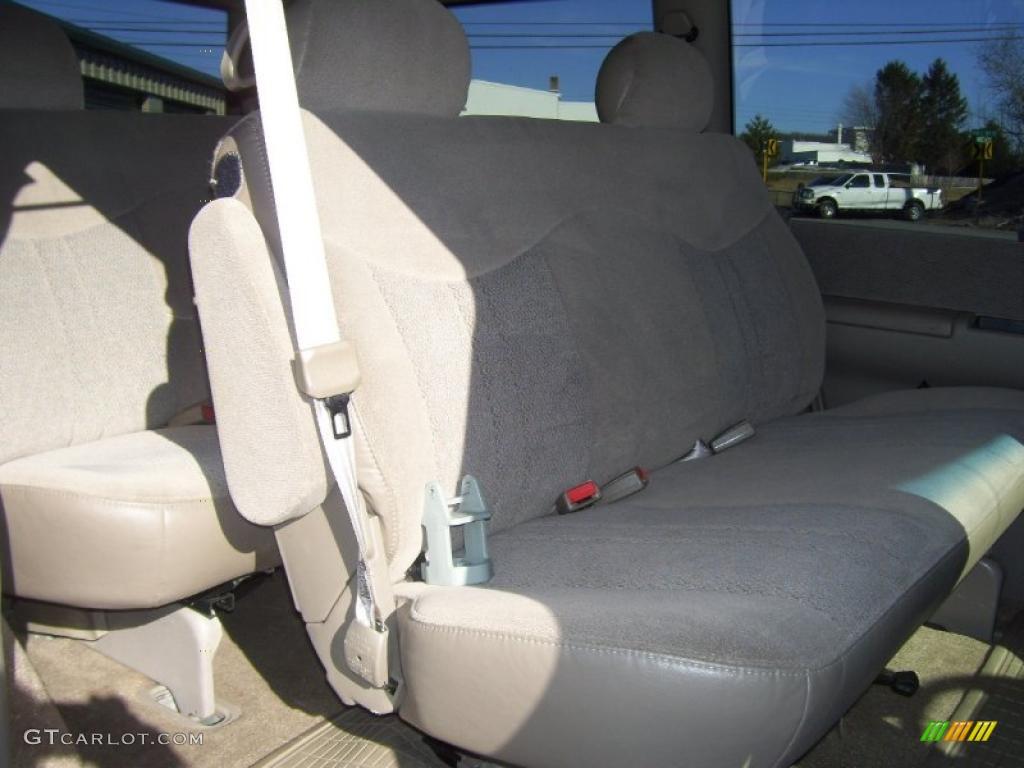 Neutral Interior 2000 Chevrolet Astro LS AWD Passenger Van Photo #46193474