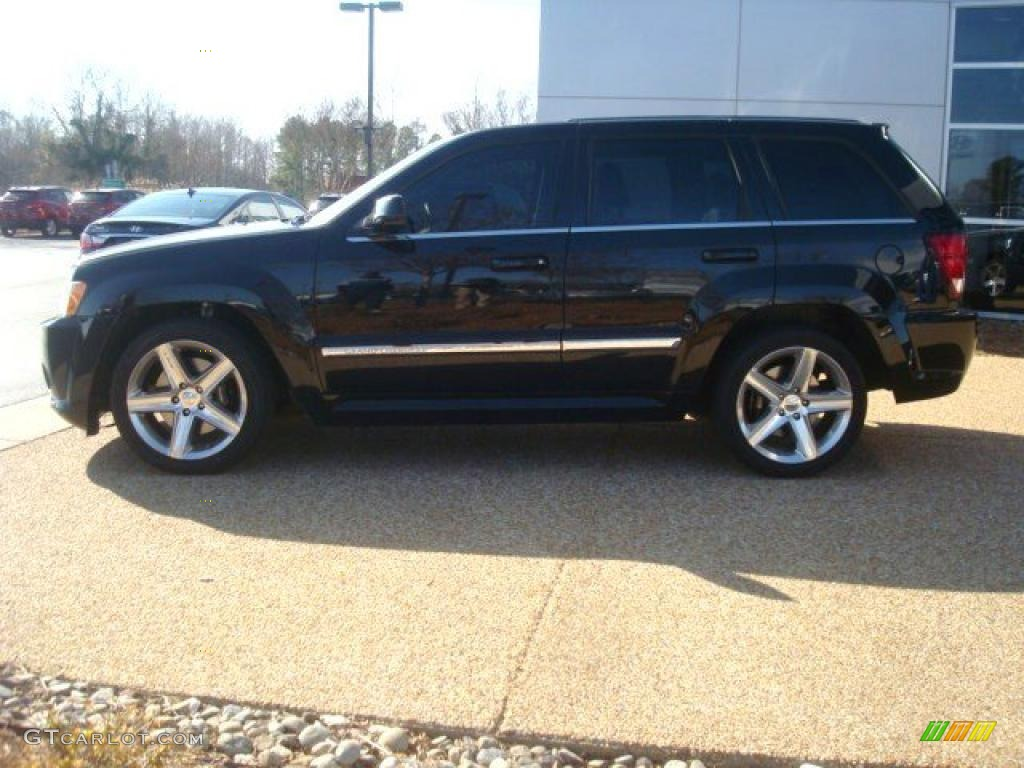 black 2007 jeep grand cherokee srt8 4x4 exterior photo 46195760. Cars Review. Best American Auto & Cars Review