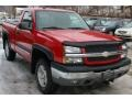 2005 Victory Red Chevrolet Silverado 1500 Z71 Regular Cab 4x4  photo #7