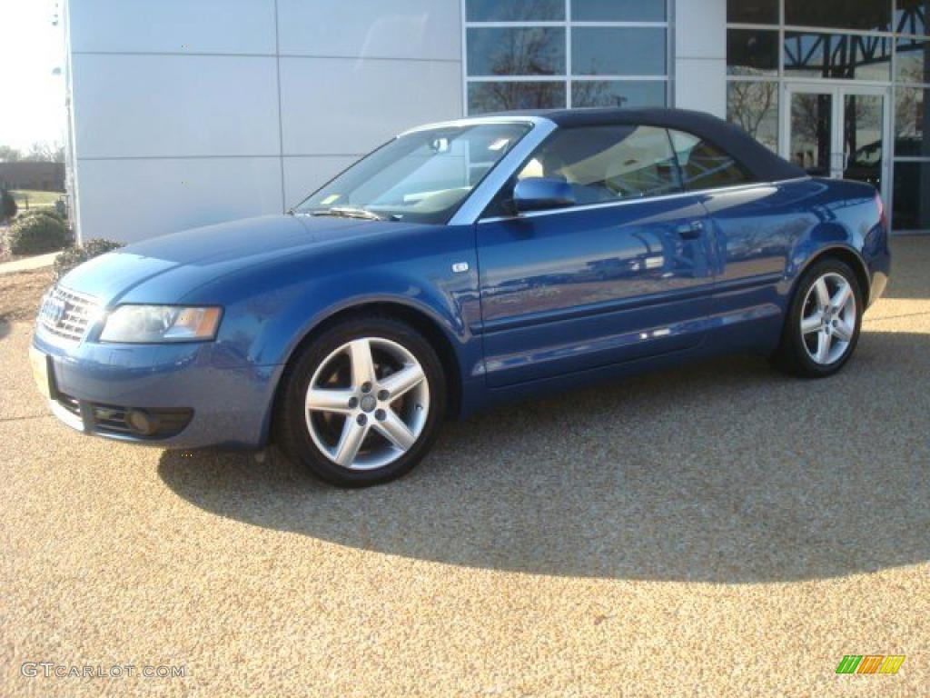 caribic blue pearl 2004 audi a4 1 8t cabriolet exterior photo 46197905. Black Bedroom Furniture Sets. Home Design Ideas