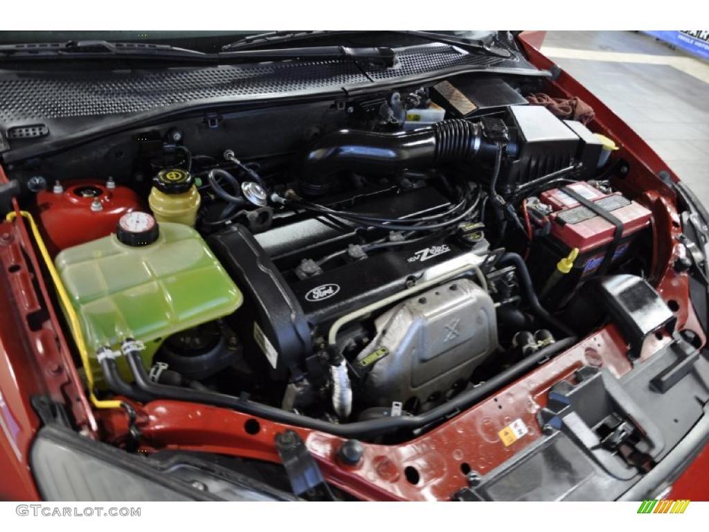 2004 Ford Focus Se Sedan 2 0 Liter Dohc 16