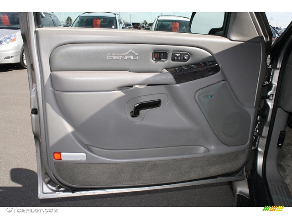 2002 GMC Yukon XL Denali AWD Stone Gray Door Panel Photo #46202468 & 2002 GMC Yukon XL Denali AWD Stone Gray Door Panel Photo #46202468 ...