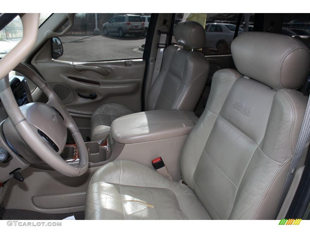 Medium Parchment Interior 2000 Ford Expedition Eddie Bauer 4x4 Photo 46204136