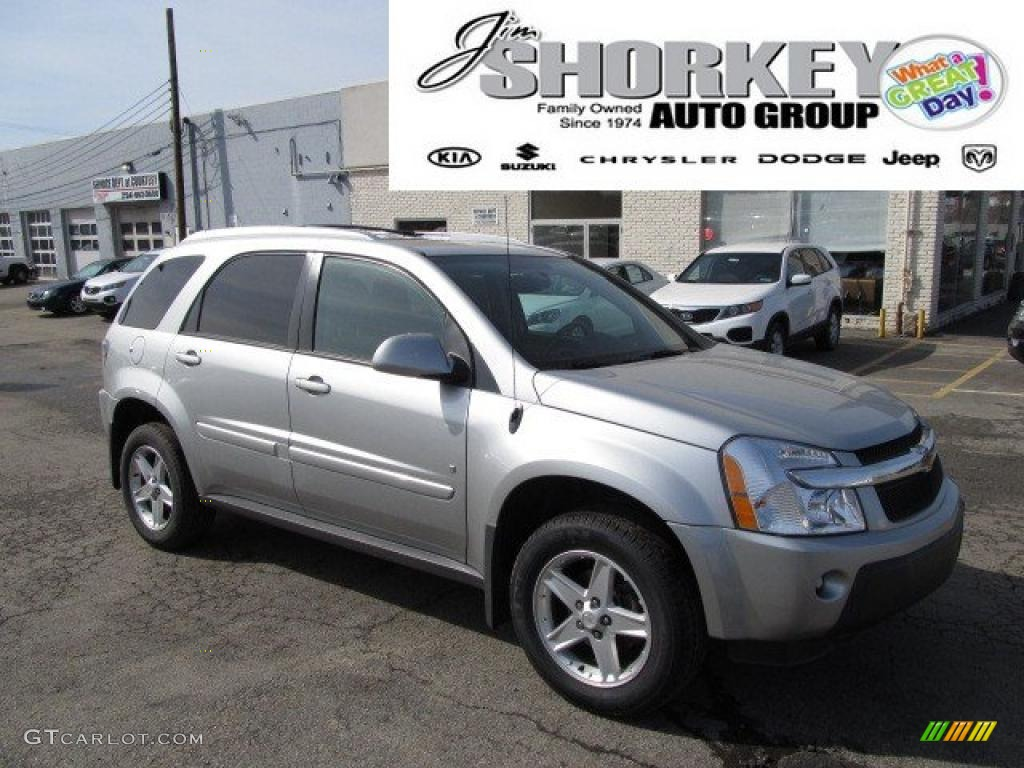 2006 Galaxy Silver Metallic Chevrolet Equinox Lt Awd 46183696 Gtcarlot Com Car Color Galleries
