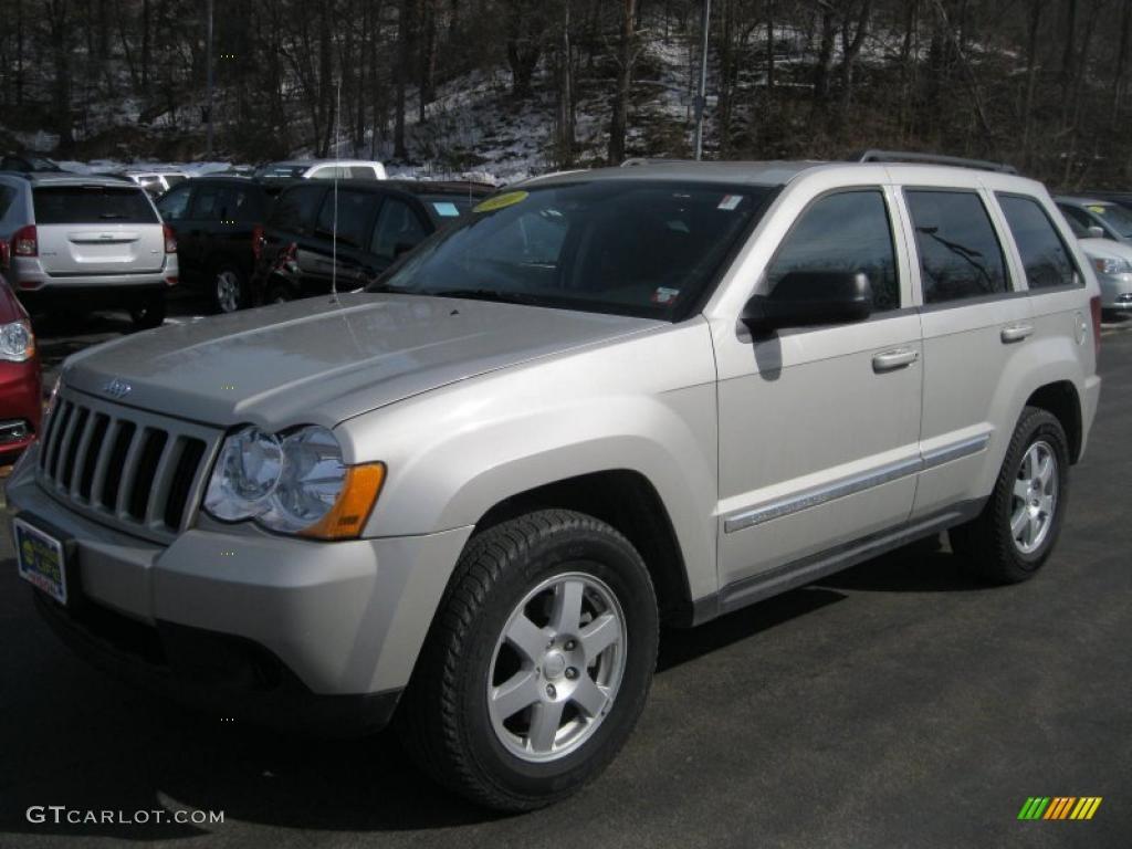 2010 light graystone pearl jeep grand cherokee laredo 4x4 46183958 car color. Black Bedroom Furniture Sets. Home Design Ideas