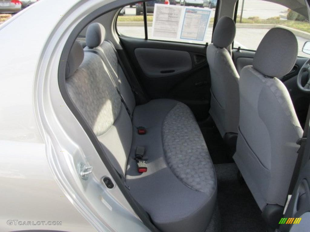 Shadow Gray Interior 2000 Toyota ECHO Sedan Photo #46225622 | GTCarLot ...